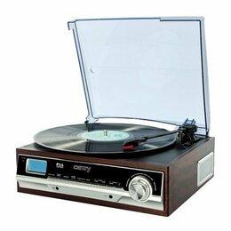 Проигрыватели виниловых дисков - Виниловый проигрыватель Camry CR1113, 0