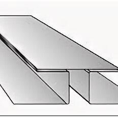 Сайдинг - Планка соединительная ПС33А 0,45х3000 PRINTECH светлое дерево матовое, 0