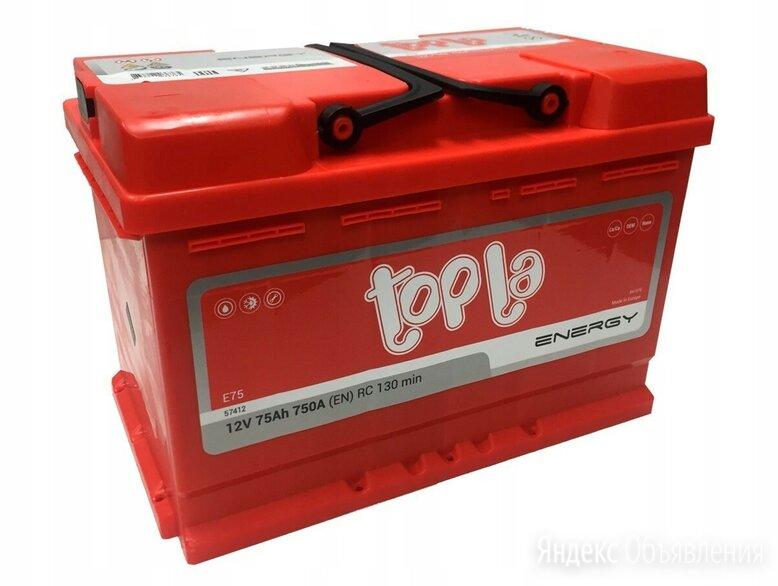 Аккумулятор Topla Energy (108275) 75Ач 700А Обратная полярность по цене 7400₽ - Аккумуляторы и комплектующие, фото 0