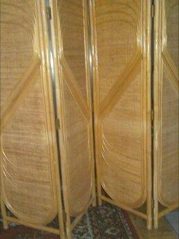 Плетеная мебель - Ширма из ротанга,4х ств., 0