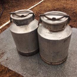 Ёмкости для хранения - Фляги алюминиевые 40 литров, 0