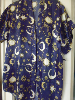 Домашняя одежда - Халат, топ и трусики, 0