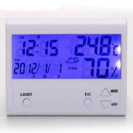 Метеостанции, термометры, барометры - Термометр гигрометр (00902), 0