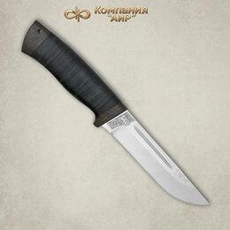 Аксессуары и комплектующие - Нож Бекас Златоуст из стали 95х18 кожа, 0