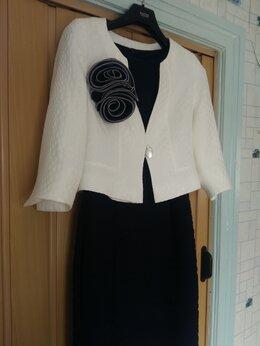 Платья - костюм (пиджак и платье), 0