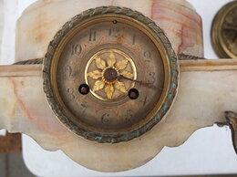 Часы настольные и каминные - мраморная подставка с часами под скульптуру,…, 0