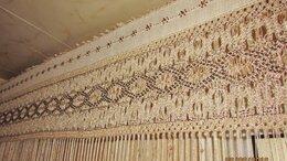 Шторы - штора плетение макраме ручной работы, 0