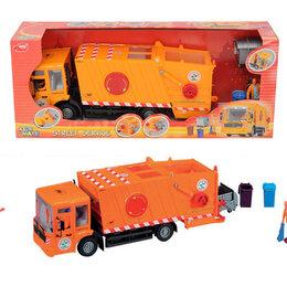 Машинки и техника - Мусоровоз dickie toys 38 см, 0