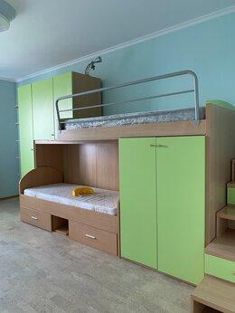 Кроватки - Двухъярусная детская кровать. Детский уголок, 0