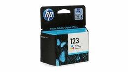 """Картриджи - Картридж HP """"123"""" F6V16AE Color , 0"""