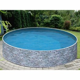 Бассейны - Сборный бассейн Azuro Stone 4,6 х 1,2 м (под…, 0
