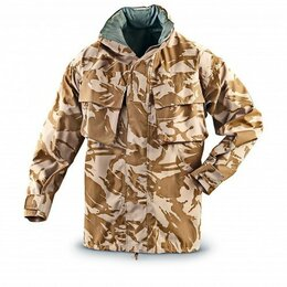 Одежда и обувь -  Куртка мембранная армии Великобритании Rain Jacket Combat MVP, DesertDPM, 0