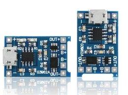 Зарядные устройства для стандартных аккумуляторов - Плата зарядки USB для аккумуляторов Li-ion, 0