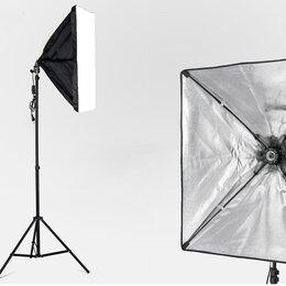 Осветительное оборудование - Набор Фототом SB-5070AC8711 (софтбокс, патрон Е27, стойка) , 0