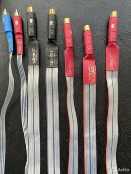 Кабели и разъемы - Аудио кабель Nordost RED Dawn и Nordost Blue, 0