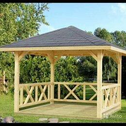 Готовые строения - Строим беседки, деревянные или металлические., 0