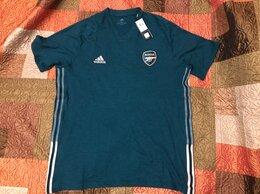 Футболки и майки - Футболка Adidas arsenal Xl оригинал темно-зеленая, 0