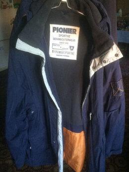 Куртки - Мужская куртка Pionier с капюшоном (большая), 0