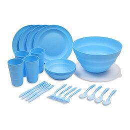 Кружки, блюдца и пары - Набор для пикника VIRGO 26 предметов, 0