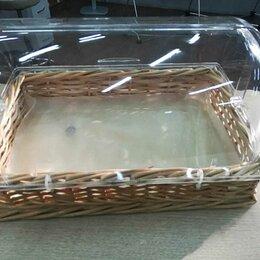 Корзины, коробки и контейнеры - Плетеная корзина с крышкой 41,5*28*15 см, 0