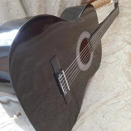 Акустические и классические гитары - Чёрная гитара классическая, 0