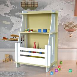 """Стеллажи и этажерки - Стеллаж для книг и игрушек """"Кантри"""", 0"""