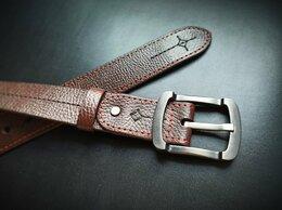 Ремни и пояса - Стильный кожаный ремень ручной работы, 0