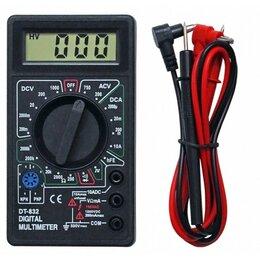 Измерительные инструменты и приборы - Мультиметр цифровой DT-832, 0