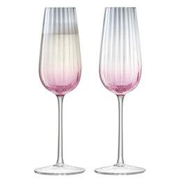 Бокалы и стаканы - Набор из 2 бокалов-флейт для шампанского 250 мл…, 0