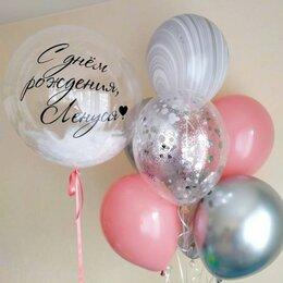 """Воздушные шары - Набор шаров с баблсом 24"""", 0"""