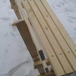 Скамейки - Лавочка для дачи со спинкой . 100х44х32 см, 0