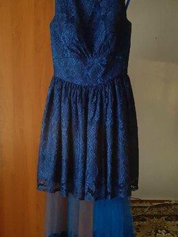 Платья - Синее платье на выпускной, 0