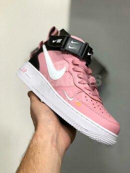 Кроссовки и кеды - Nike Air Force 1 lv8 utility mid розовые, 0