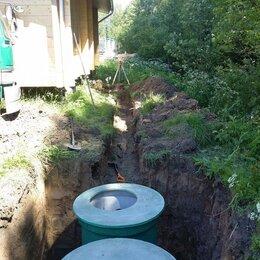 Канализационные трубы и фитинги - Прокладка канализации,септики,водоотведение, 0