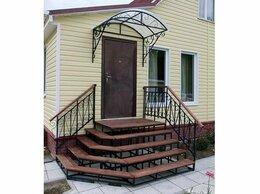 Лестницы и элементы лестниц - Металлическое крыльцо для дома, магазина, офиса…, 0