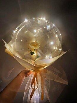 Цветы, букеты, композиции - Роза в шаре, 0