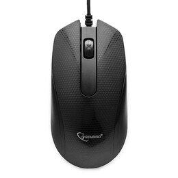 Мыши - Мышь Gembird MOP-105 черный USB, 0
