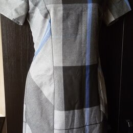 Платья - Платье в клетку р. 42 новое Турция, 0