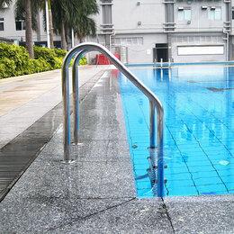 Лестницы и поручни - Лестница для бассейна. Aquaviva Standard 3 ступени, 0