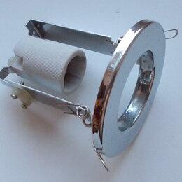 Встраиваемые светильники - Светильник потолочный. Новый, под цоколь Е14, внешний диаметр 86мм, 0