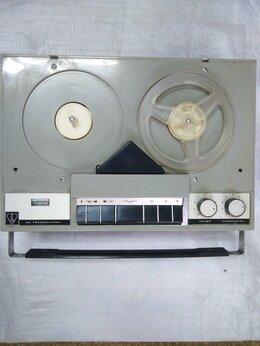 Музыкальные центры,  магнитофоны, магнитолы - ВЕСНА 3 катушечный переносной магнитофон, 0