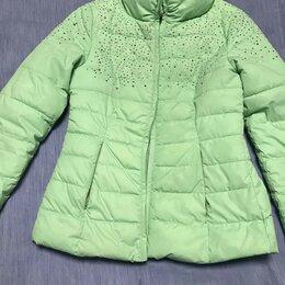 Куртки - Куртка демисезонная мятного цвета, 0