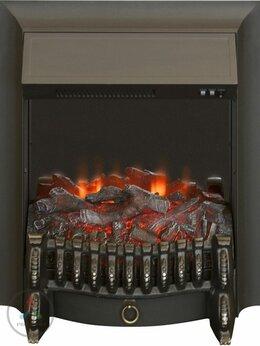 Камины и печи - Электроочаг Real-flame Fobos Lux BL S, 0