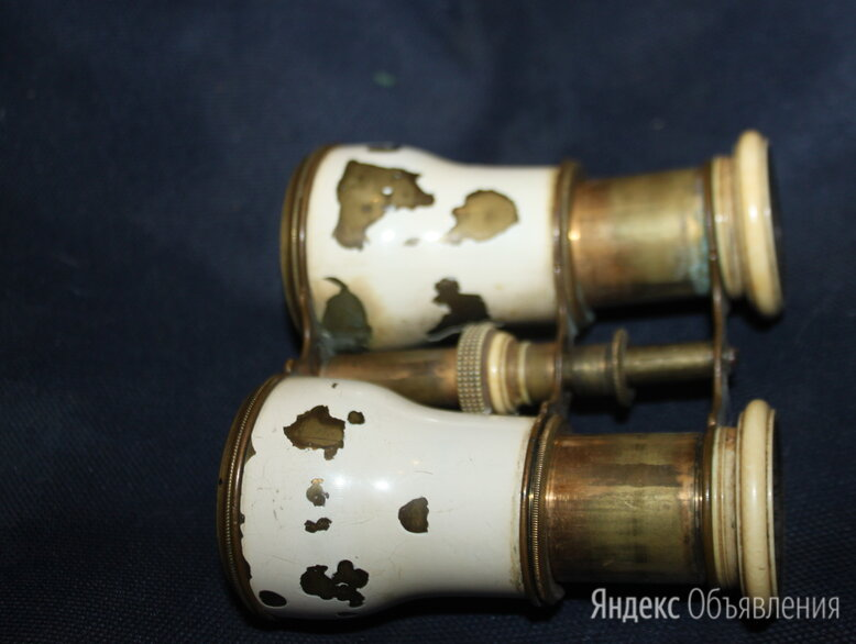 бинокль старинный бронза  по цене 1500₽ - Бинокли и зрительные трубы, фото 0