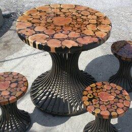 Столы и столики - Мебель из можжевельника, 0