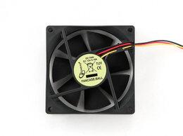 Кулеры и системы охлаждения - Вентилятор Gembird FANCASE/BALL 80x80x25 подшипник, 0