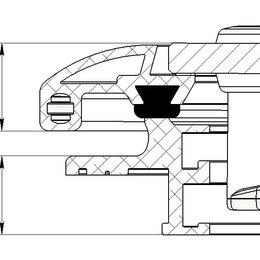 Ревизионные люки - Люк палубный сдвижной Альбатрос 720х720, 0