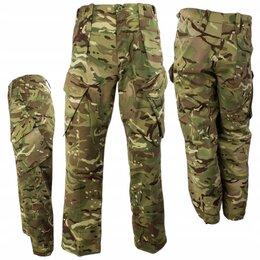 Брюки - Брюки Британской армии оригинал новые камуфляж MTP, 0