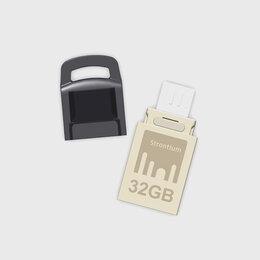 USB Flash drive - Флеш-накопитель USB 2 0 OTG Nitro 32 GB Strontium, 0
