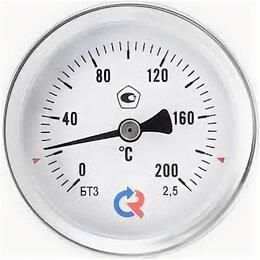 Метеостанции, термометры, барометры - Термометр биметаллический ТБ100 150С Дк100 L=50, 0